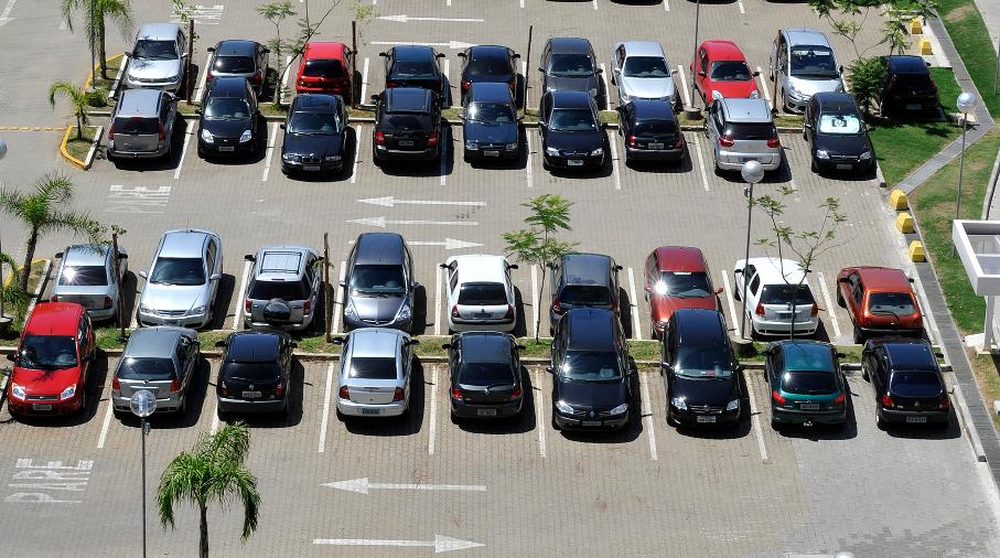 Estacionamento da PUCRS