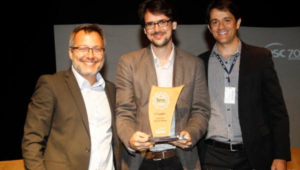 Aluno de Escrita Criativa recebe Prêmio Nacional de Literatura