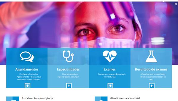 Hospital São Lucas tem novo site