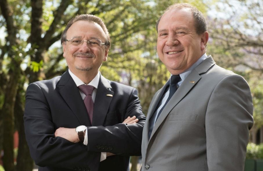 Carrossel - Jaderson Costa da Costa e Evilázio Teixeira, novos gestores da PUCRS