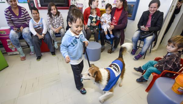Projeto Pet Terapia beneficia pacientes
