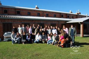 Grupos em excursão -2007