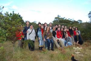 Grupos em excursão - 2009