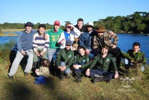 Grupos em excursão - 2010