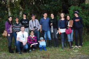Grupos em excursão - 2011