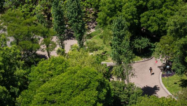 Sensação de bem-estar com o paisagismo do Campus