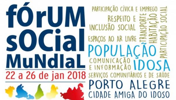 Universidade participa do Fórum Social Mundial da População Idosa