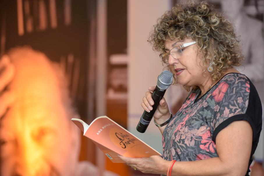 Lançamento do livro da escritora Ana Mafalda Leite