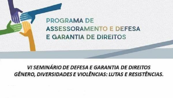 Seminário debate gênero, diversidades e violências