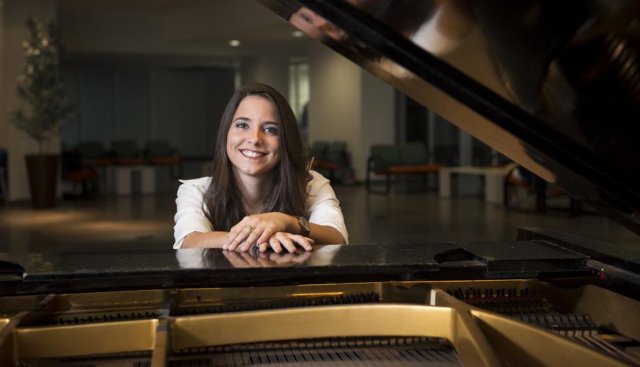 mariane kerber, pucrs piano, piano, pianista, música, pocket show, blues