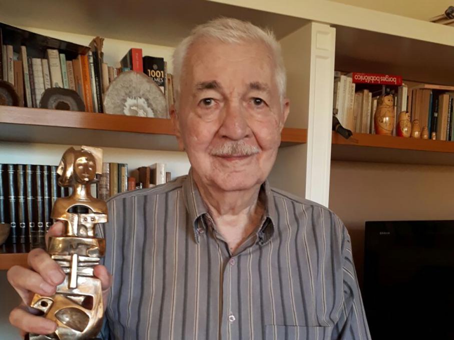 ivan izquierdo, prêmio unesco,inscer/rs,centro de memória,Prêmio Internacional Unesco-Guiné Equatorial para Pesquisa em Ciências da Vida