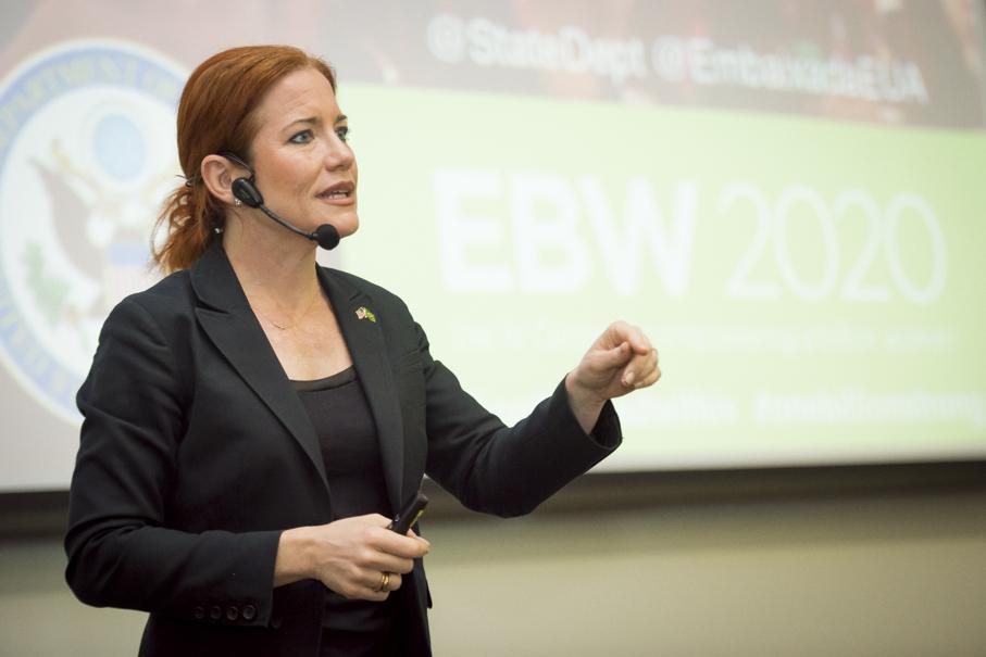 ingrid-Ingrid Vanderveldt, empoderamento, empoderamento feminino, mulheres, inovação, empreendedorismo, investimentos, palestra