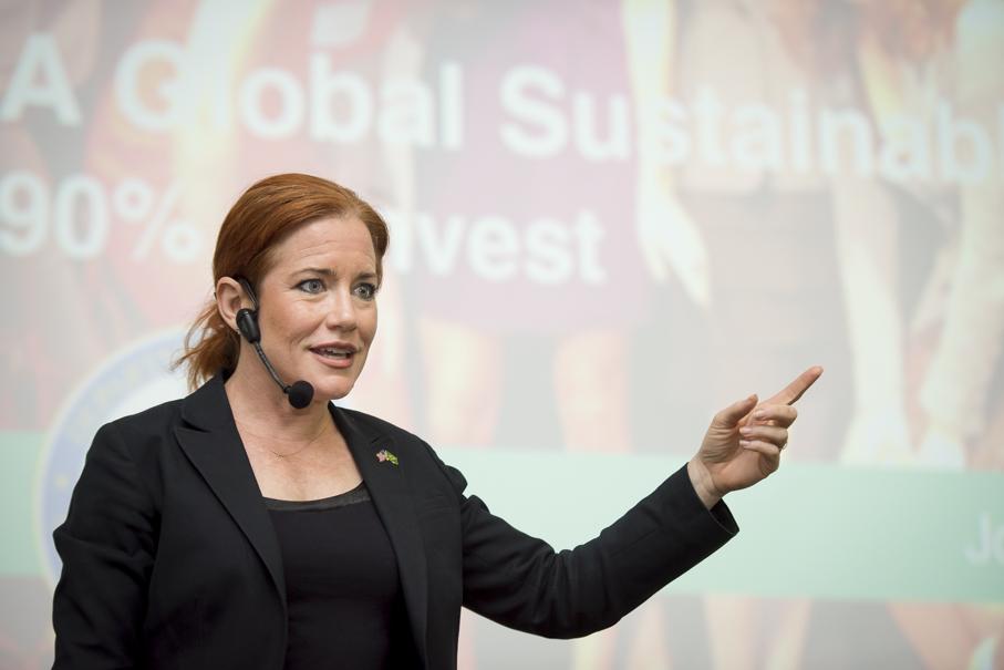 Ingrid Vanderveldt, empoderamento, empoderamento feminino, mulheres, inovação, empreendedorismo, investimentos, palestra