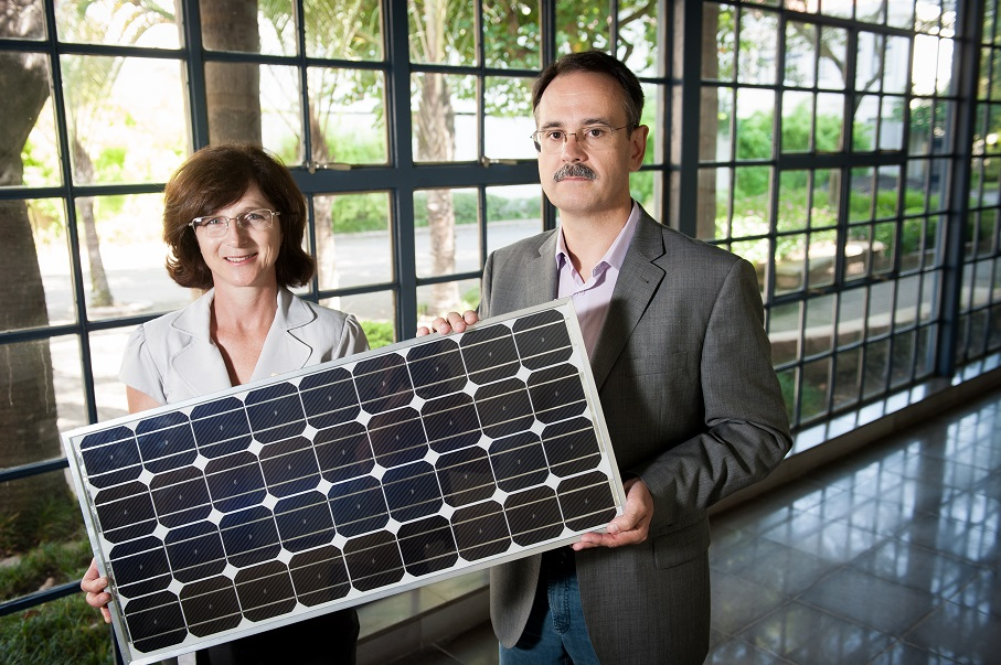 izete zanesco, adriano moehlecke, energia solar, células fotovoltaicas, módulos fotovoltaicos