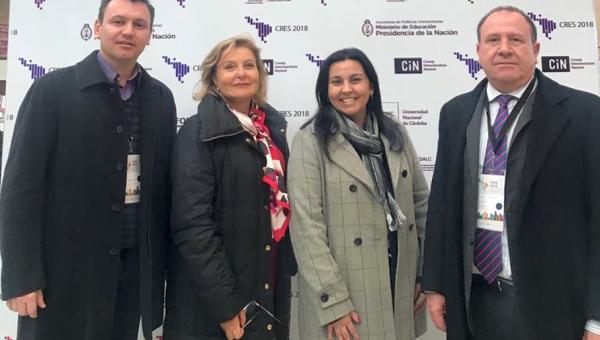Reitor e gestores participam da Conferência Regional de Educação Superior