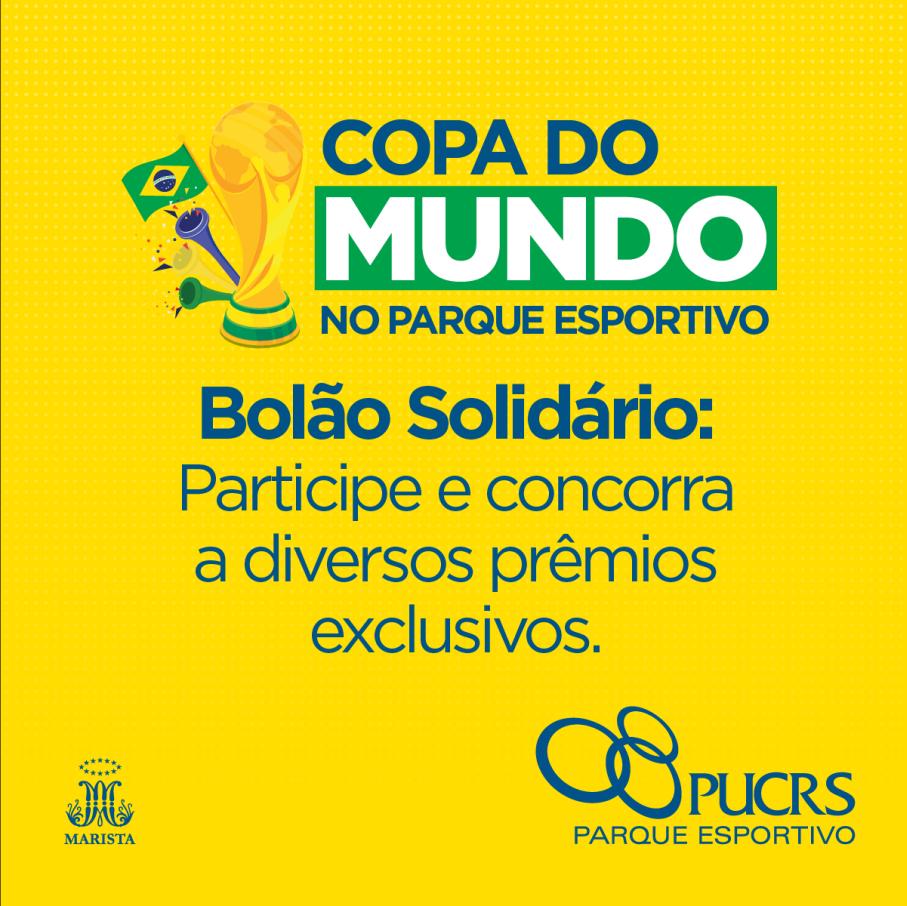 bolão solidário,parque esportivo,copa do mundo 2018