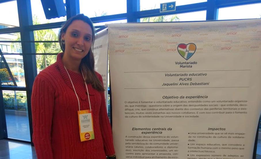 Centro de Pastoral e Solidariedade,CPS,Jaquelini Debastiani,1º Congresso Internacional de Responsabilidade Social