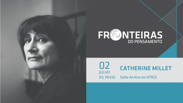 Catherine Millet é próxima conferencista no Fronteiras do Pensamento
