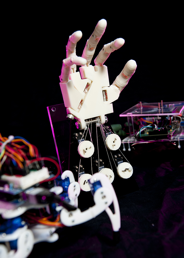Robótica é um dos temas dos grupos de pesquisa do Programa de Pós-Graduação em Ciências da Computação. Foto: Bruno Todeschini