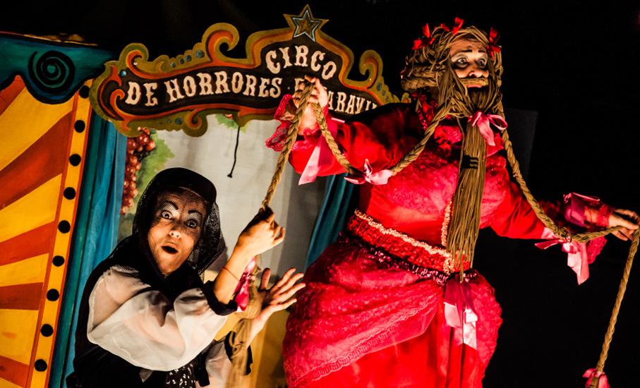 Oigalê, Circo de Horrores e Maravilhas