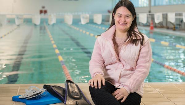 Aline Colares, formanda em Educação Física, é exemplo de determinação