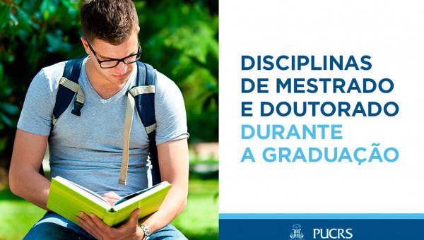 Alunos da Graduação podem fazer disciplinas de mestrado e doutorado