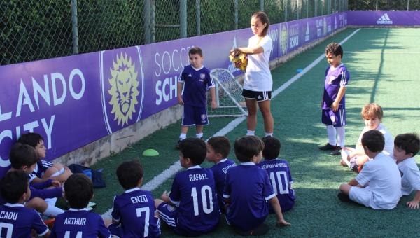 Orlando City lança escola de futebol no Parque Esportivo