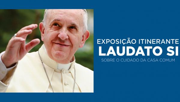 Exposição destaca encíclica do Papa Francisco sobre consciência ambiental