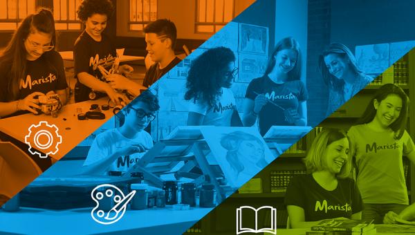 Eventos da Rede Marista integram estudantes