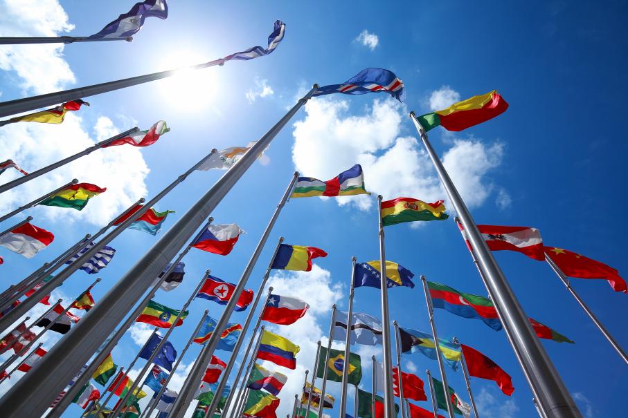 site internacional,bandeiras,países,internacionalização
