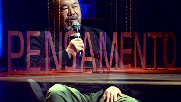 Fronteiras do Pensamento: Ai Weiwei e a arte com rebeldia e irreverência