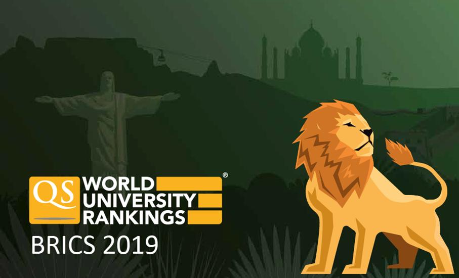 Ranking QS BRICS 2019