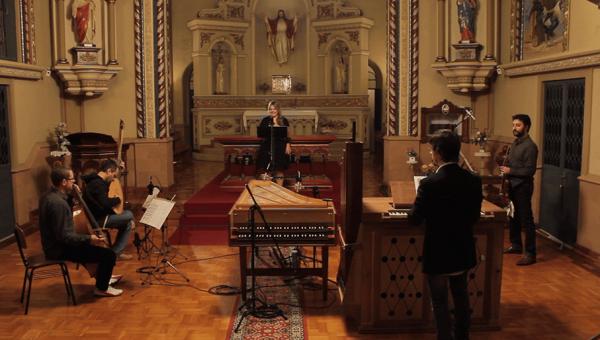Soprano Gabriella Di Laccio se apresenta no concerto Affetti Barocchi