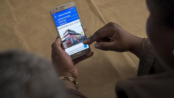 Aplicativo voltado a mulheres quilombolas divulga políticas sociais e direitos