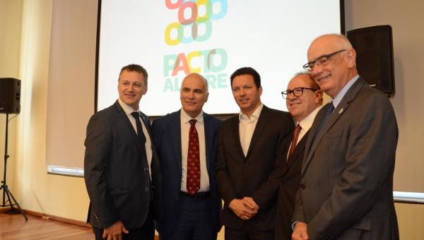 Pacto Alegre é lançado oficialmente