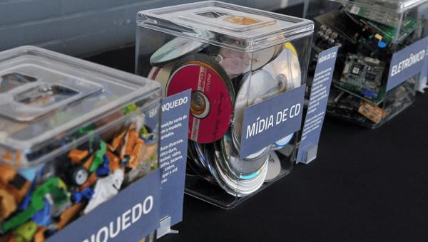 Exposição mostra reciclagem de mercadorias apreendidas