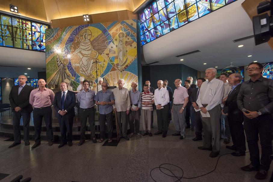 70 anos, missa, igreja cristo mestre