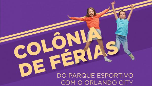 Parque Esportivo oferece colônia de férias do Orlando City