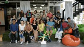 Alunos internacionais conhecem espaços do Campus durante curso