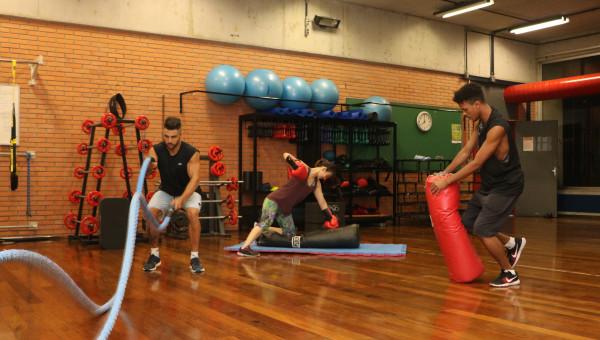 Parque Esportivo oferece diferentes modalidades de esporte