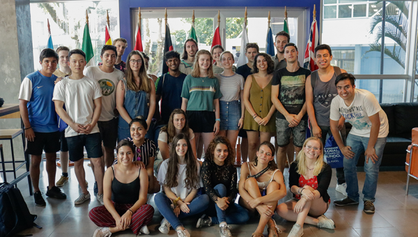 Seminário dá as boas-vindas aos novos alunos internacionais