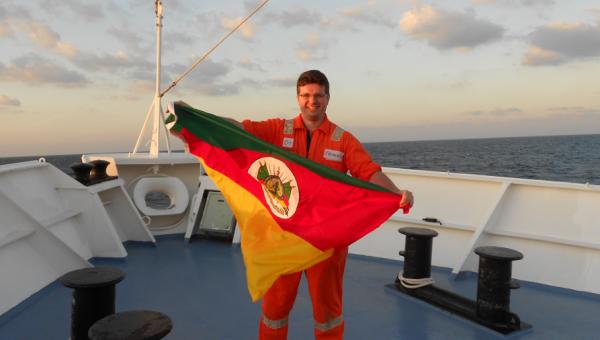 PUCRS é pioneira com estudo sobre hidratos de gás no Rio Amazonas