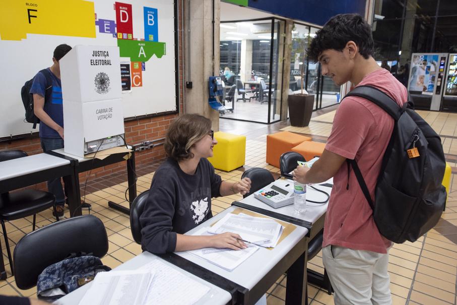 DCE, diretório central dos estudantes, eleições