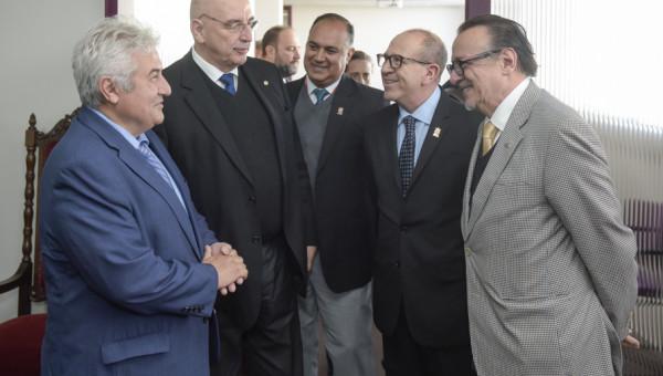 Ministros Marcos Pontes e Osmar Terra visitam instalações do Tecnopuc e InsCer