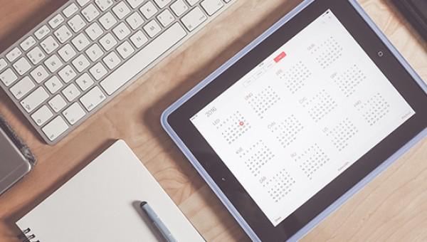 Calendários acadêmicos podem ser sincronizados on-line