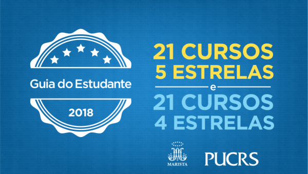 Guia do Estudante elege 46 cursos da PUCRS com as melhores notas