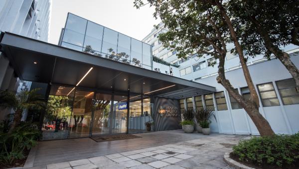 Nova entrada do Hospital amplia segurança com controle de acesso