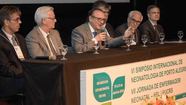 Hospital promove Simpósio de Neonatologia