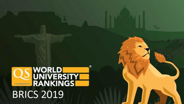 Ranking QS University BRICS 2019 mostra PUCRS líder entre as privadas no Sul