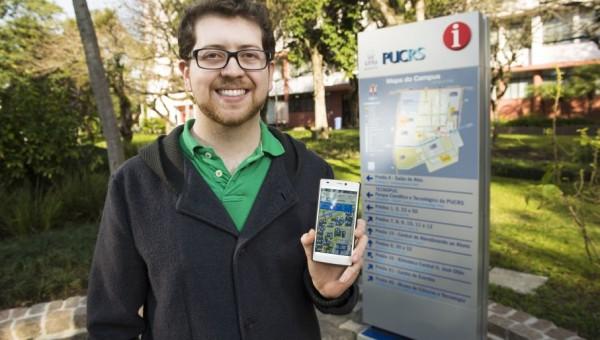 Sistema orienta o público pelos caminhos do Campus